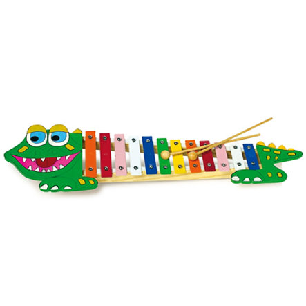 LEGLER Xylofón krokodýl