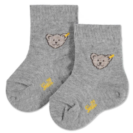 STEIFF Mini Socks Teddy grey
