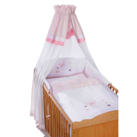 Easy Baby Bedset Butterfly rose (400-85)