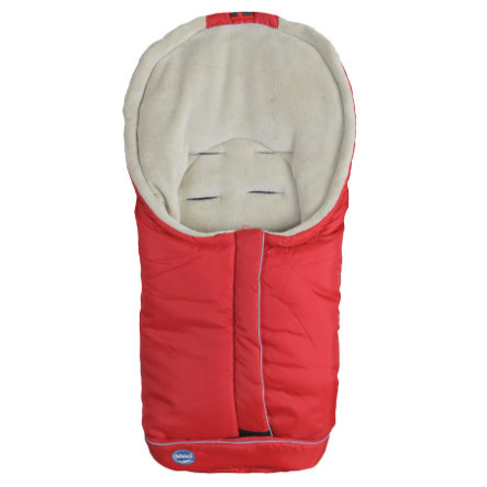 URRA Footmuff Standard Small Red/Beige