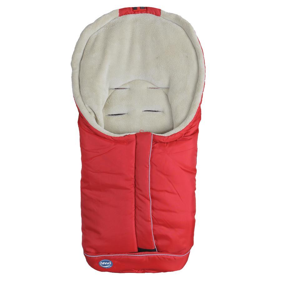 URRA kørepose Standard lille rød/beige