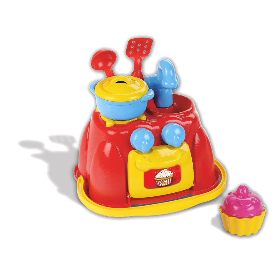 KLEIN speelgoed beach picknick - keuken met accessoires