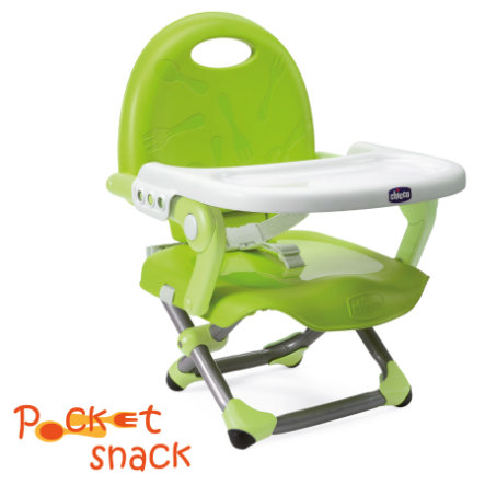 CHICCO Istuinkoroke Pocket Snack, Lime, mallisto 2015