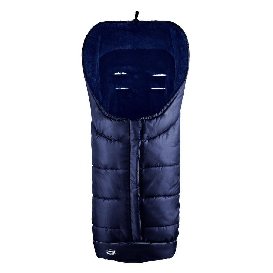 URRA Śpiworek do wózka Deluxe kolor granatowo-niebieski