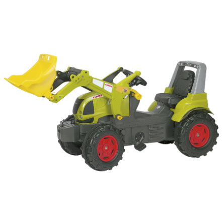 ROLLY TOYS Trattore Farmtrac Claas Arion con Ruspa