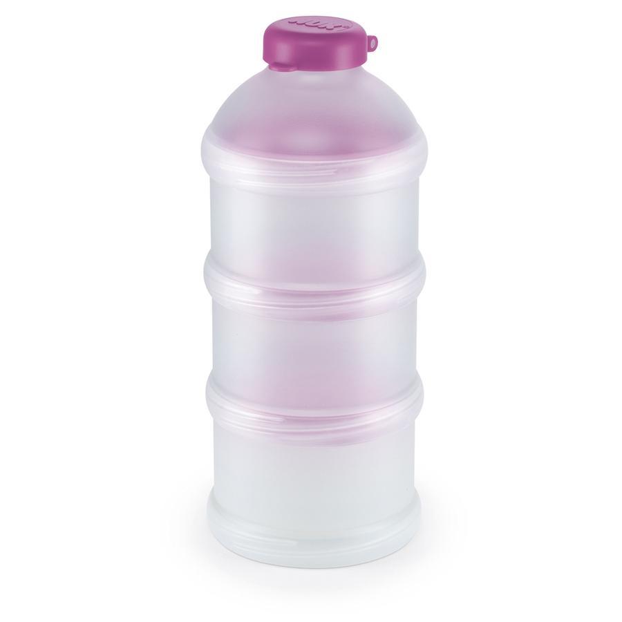 NUK Dózy na přesné porce mléka a nebo kaše, 3 kusy, BPA-neobsahuje, violett