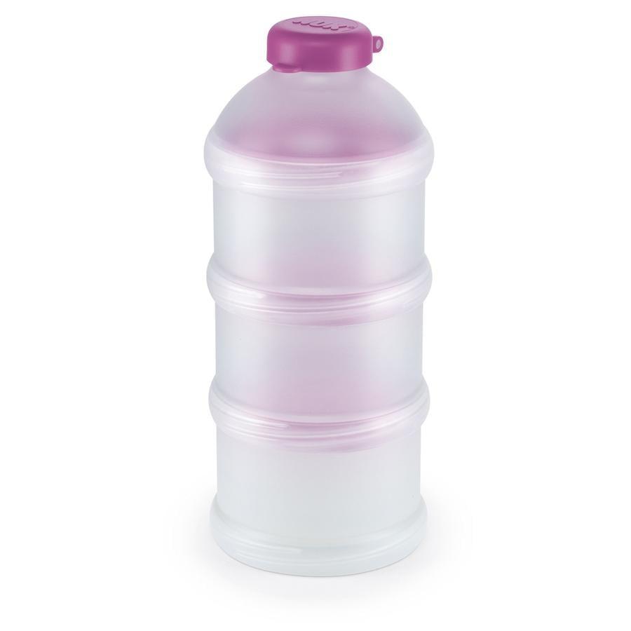 NUK Lot de 3 boîtes pour lait en poudre, sans BPA, violet