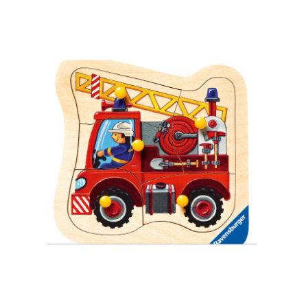 RAVENSBURGER Wooden Puzzle Fire Engine, 5 pcs. 03664