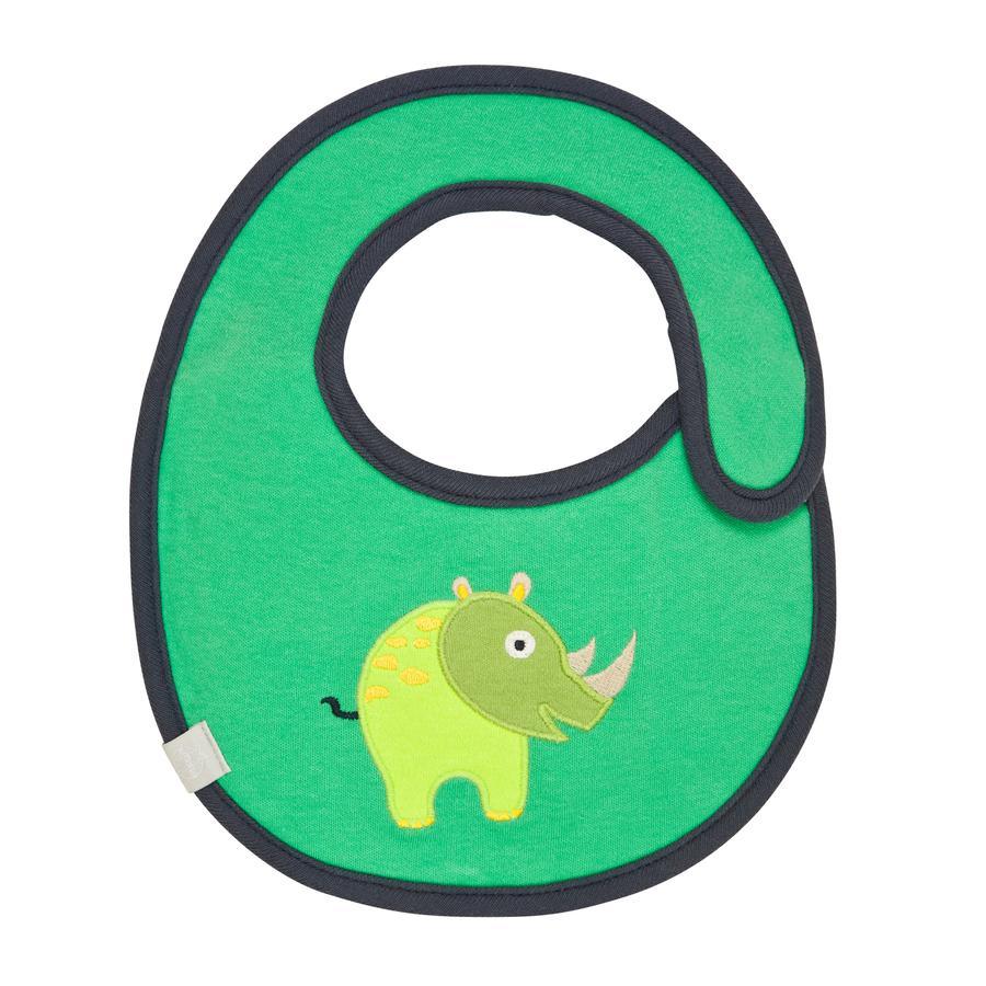 LÄSSIG Bavaglino waterproof - small - Rinoceronte