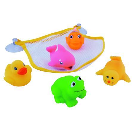 BIECO Bath Tub Mesh Pocket - 5 animals