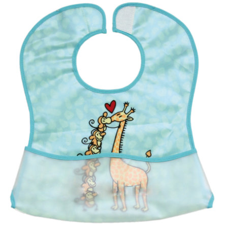Fillikid Bib Giraffe, 2 pieces - blue