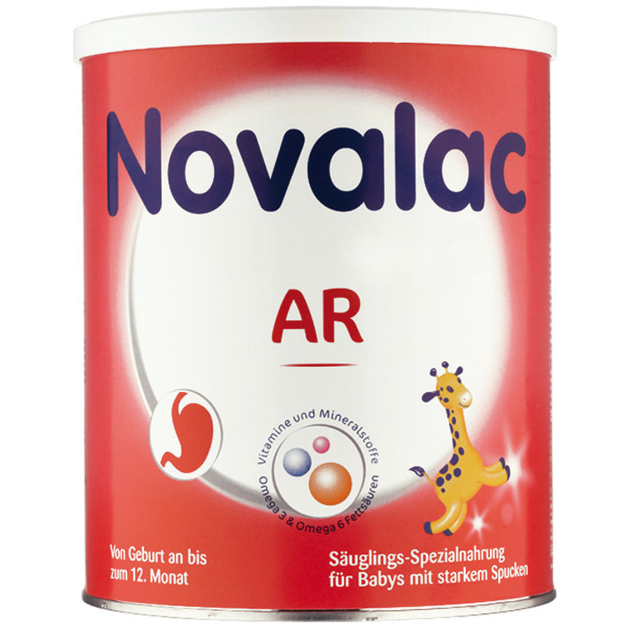 Novalac AR Spezialnahrung bei stärkerem Spucken und Aufstoßen 800g