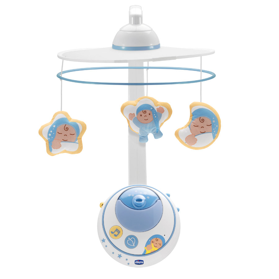 CHICCO Mobile met Sterrenprojector, blauw