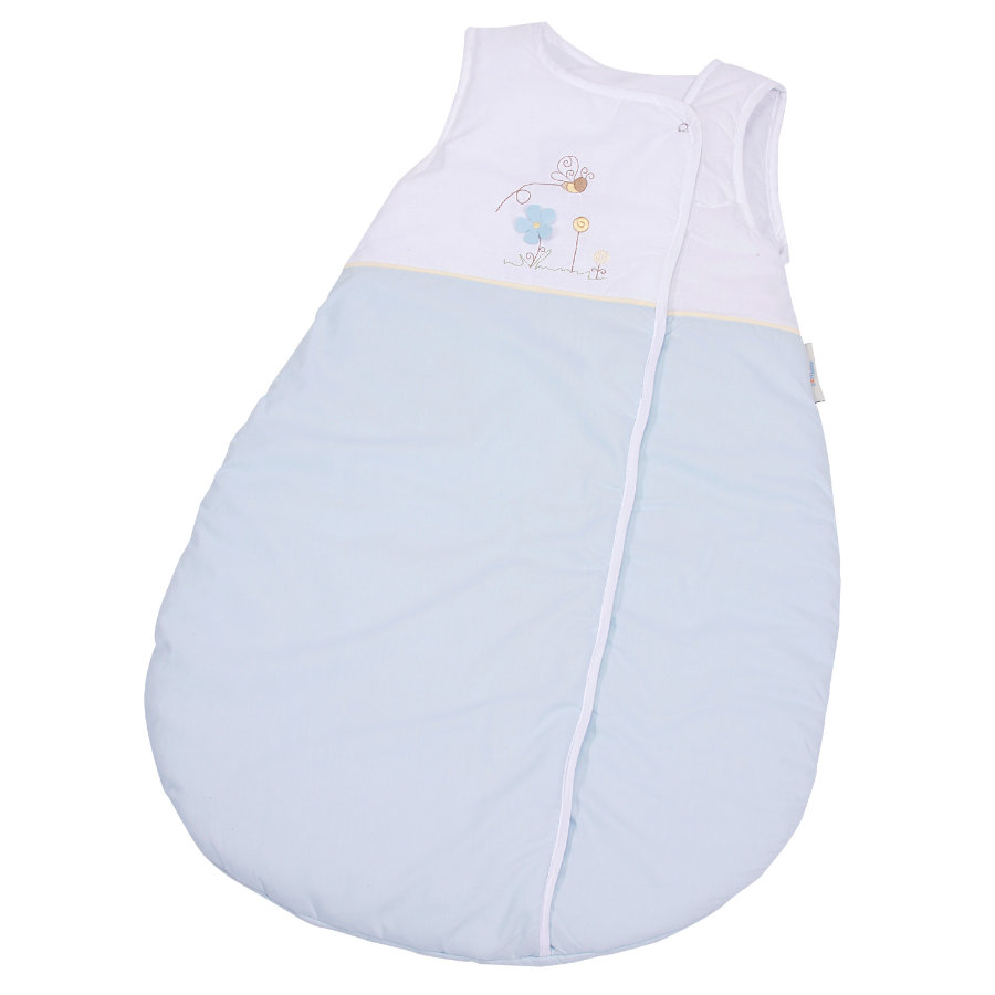 EASY BABY Schlafsack Molton 90 cm Honey bear blau (451-41)