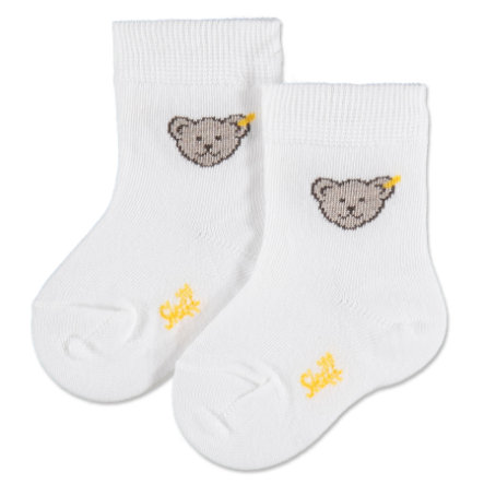 Steiff Mini Sokken Teddy wit