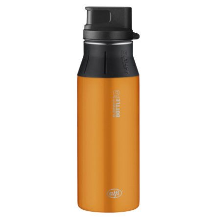ALFI elementBottle mit Trinkverschluß - Pure orange 0,6 l