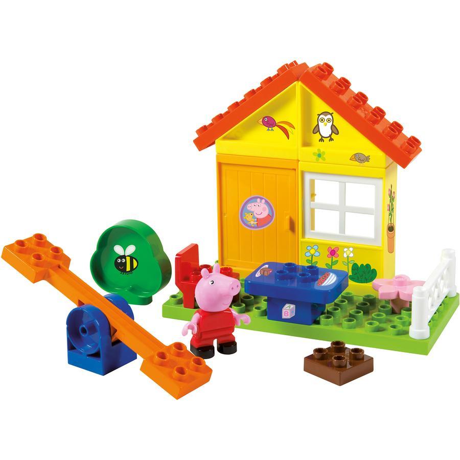 BIG PlayBIG Bloxx Peppa Pig - Trädgårdshus