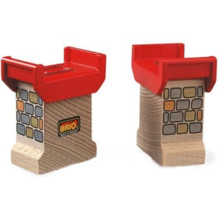 BRIO Supports de pont (2 pièces)
