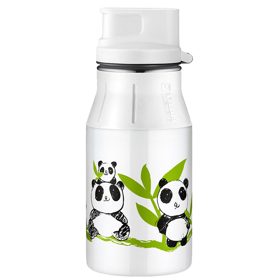 ALFI elementBottle s uzávěrem - Panda 0,4 l