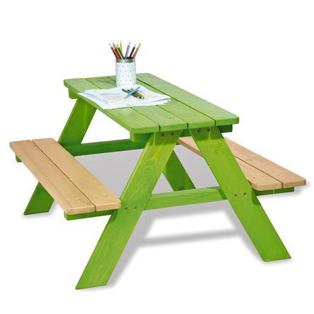 PINOLINO Table pique-nique Nicki pour 4, vert