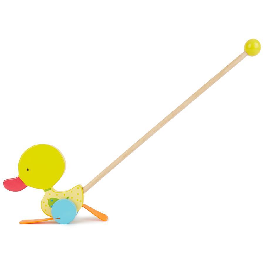 BIECO Schiebespielzeug Watschelente, gelb