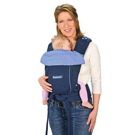 HOPPEDIZ Dětské nosítko Bondolino, klasik marine-modré