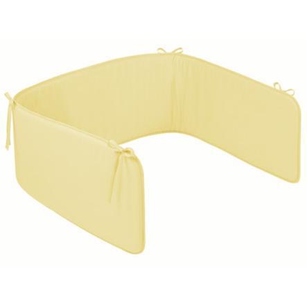 ZÖLLNER Ochraniacz do łóżeczka Basic kolor żółty (4080-0)