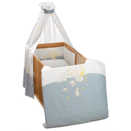 ALVI Parure de lit complète Mondreise, bleu 278-1
