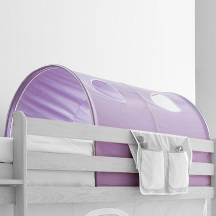 TICAA tunel na patrové a dvoulůžkové patrové postele fialový