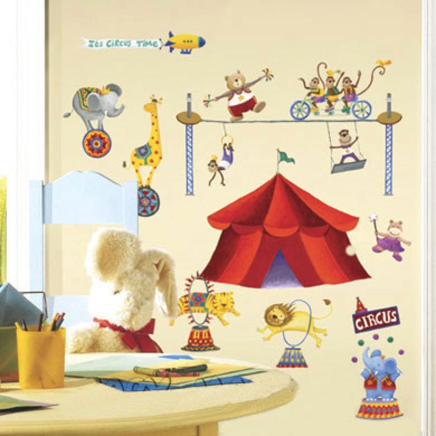 ROOMMATES nálepky na stěnu cirkus