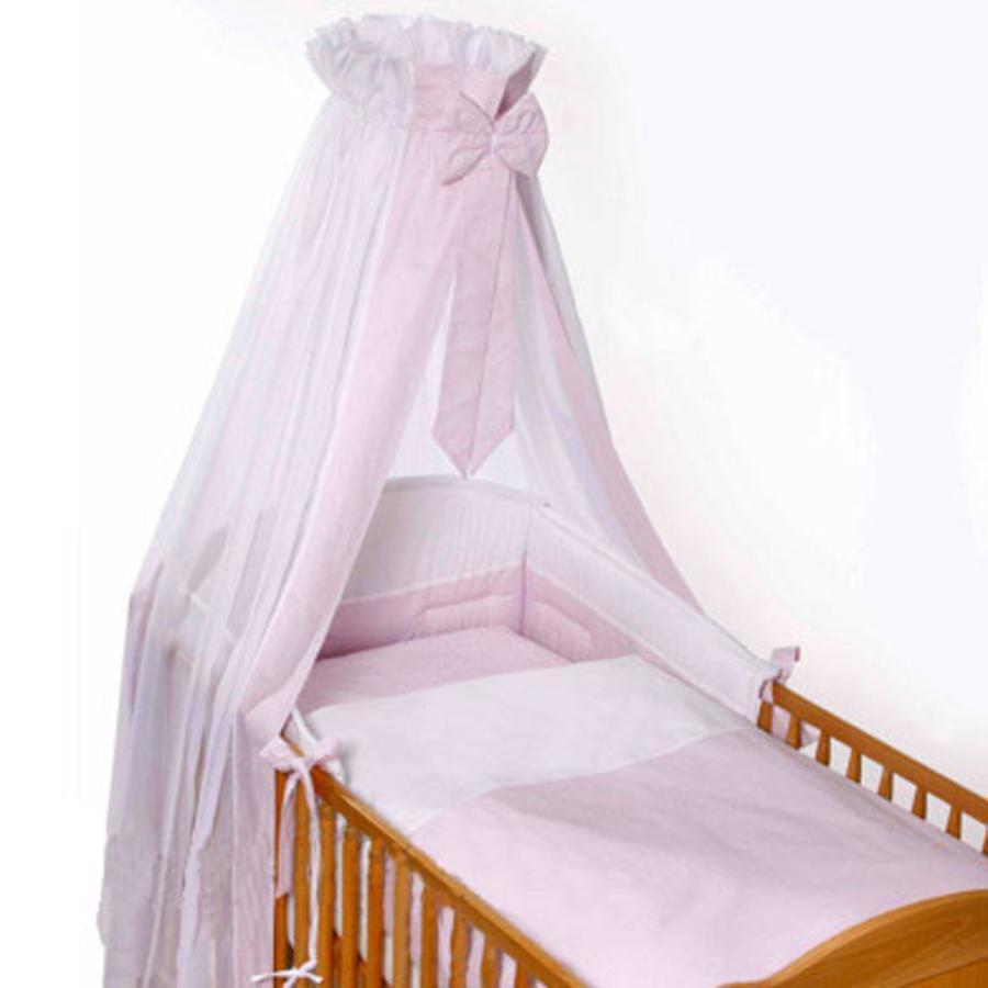 Easy Baby Set Completo per Lettino Vichy rosa (400-51)