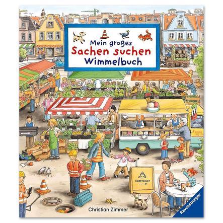 RAVENSBURGER Mein großes Sachen suchen - Wimmelbuch