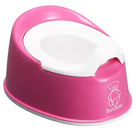 BABYBJÖRN Cleveres Töpfchen pink / weiß ab dem 24. Monat