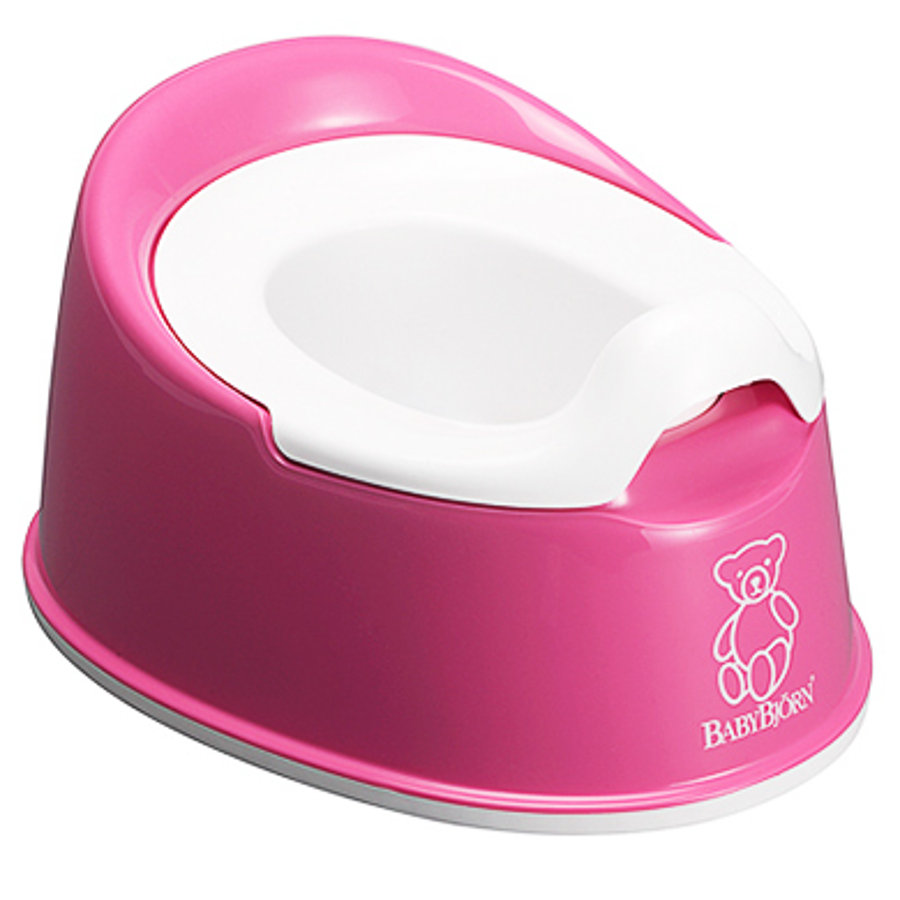 BabyBjörn Orinal Smart Blanco rosa