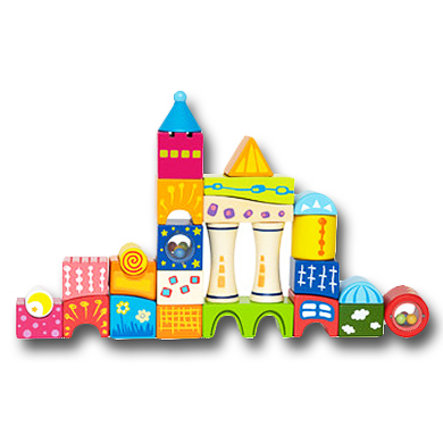 HAPE Cubes de construction fantaisie