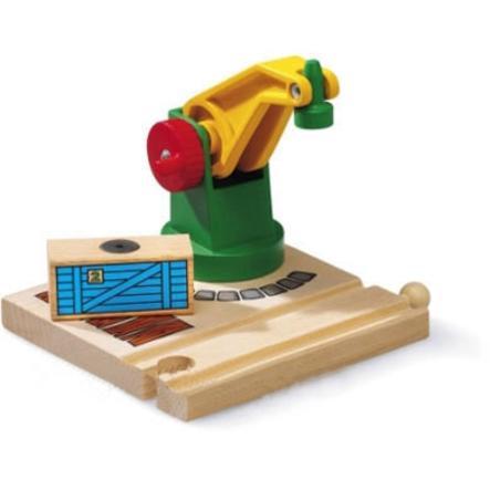 BRIO Spoorwegen – Kleine magnetische kraan