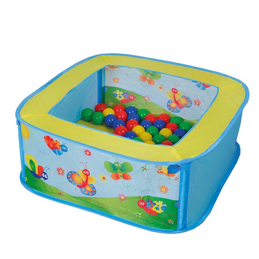 knorr® toys Bällebad Ballix inklusive 25 Spielbälle