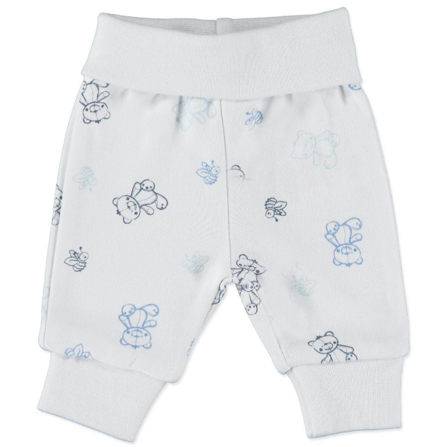 FIXONI Boys Preemie Sweatpants white/blue