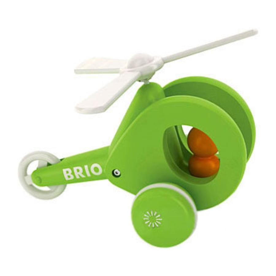 BRIO Zabawka do ciąnięcia Helikopter