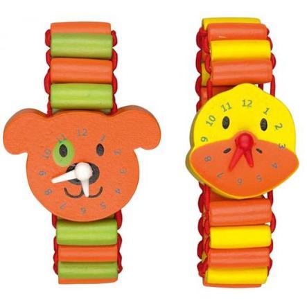 COPPENRATH Zegarek z drewna Die Lieben Sieben