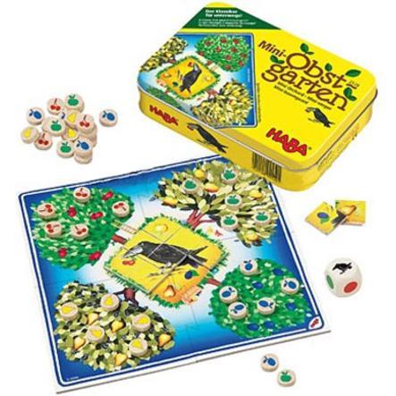 HABA Spel i burk - Miniträdgård