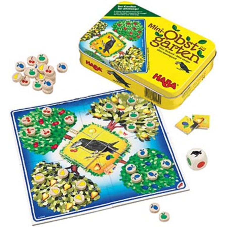 HABA Hra v dóze mini ovocný sad 2539
