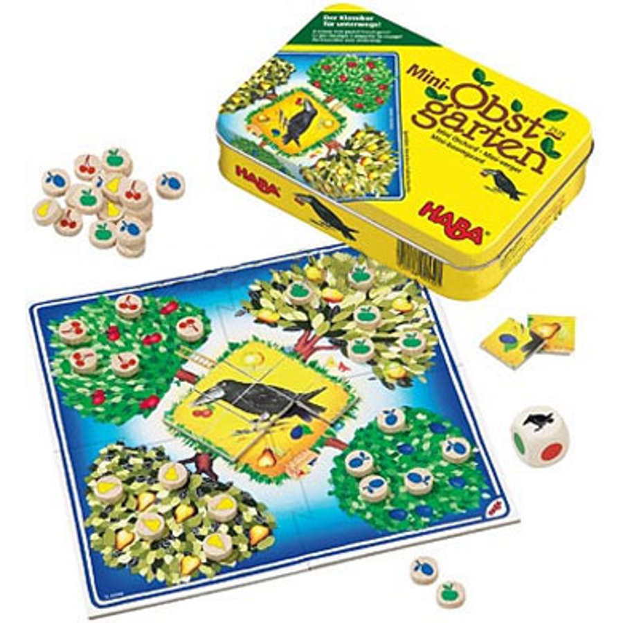HABA Mini Orchard Game Tin