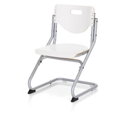 KETTLER Stuhl CHAIR PLUS, silber/weiss
