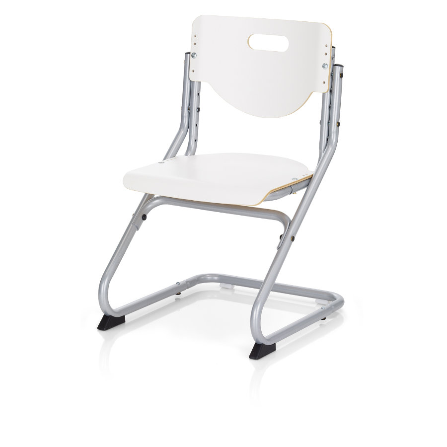KETTLER Chaise CHAIR PLUS, argent/blanc 6725-600