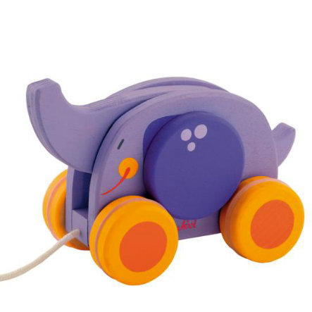 SEVI Pull-Along Elephant with moving elements 82596
