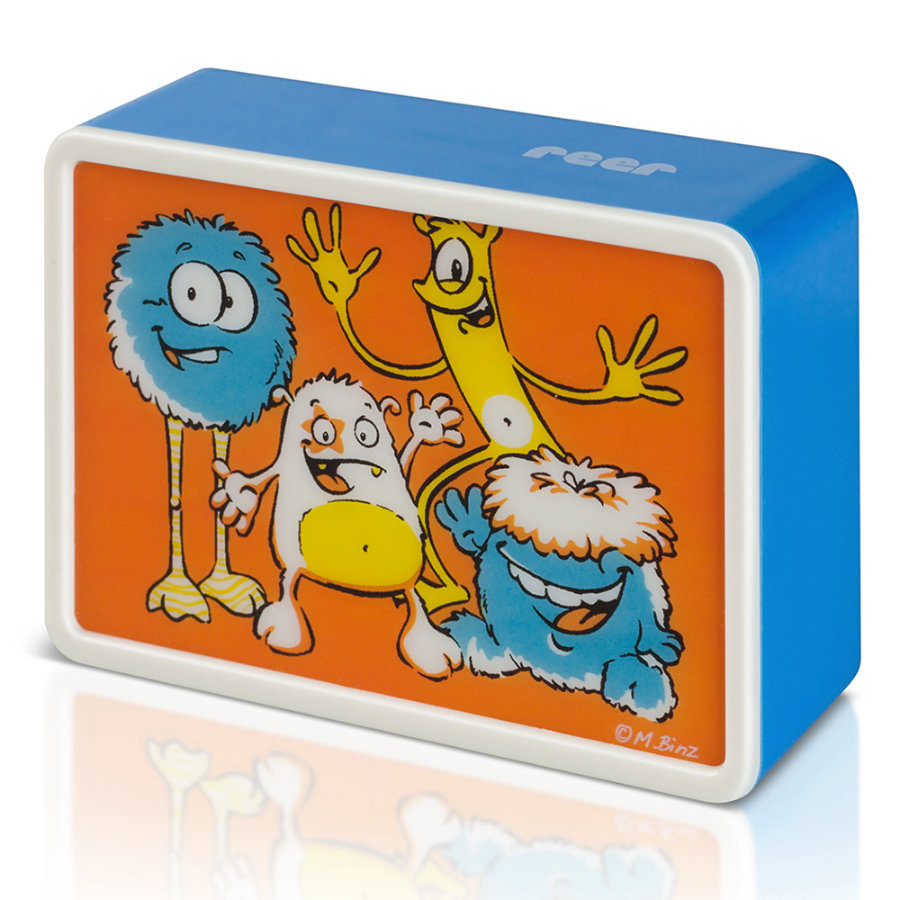 REER Luce notturna LED Kids Light Creative con colore variabile Monster