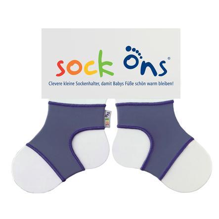 SOCK ONS Brights blue grey