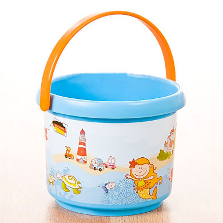SPIELSTABIL Sea Life Bucket - Blue