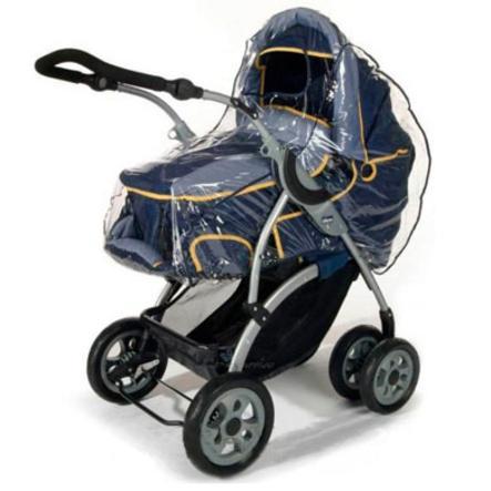 REER Folia przeciwdeszczowa do wózków z gondolką